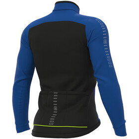 Alé Cycling Solid Fondo Maillot À Manches Longues Homme, blue
